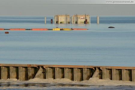 Wilhelmshaven: Kühlwasser-Entnahmebauwerke der GDF Suez
