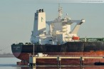 Supertanker Front Champion (Very Large Crude Carrier) in Wilhelmshaven