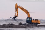 JadeWeserPort Wilhelmshaven: Die Aufspülarbeiten sind fast abgeschlossen