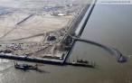Am JadeWeserPort entsteht der Schlepperhafen