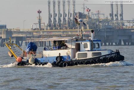 Taucherboot/Taucherschiff Jade-Taucher I vom Jade-Dienst