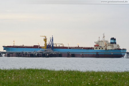 Tanker Maersk Producer am NWO-Anleger 1