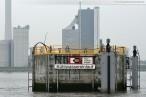 Das Kühlwasser-Entnahmebauwerk der GDF Suez