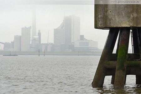 Wilhelmshaven: Die GDF Suez Kraftwerksbaustelle von Seeseite