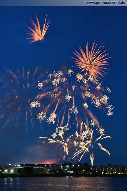 Feuerwerk Wochenende an der Jade 2012