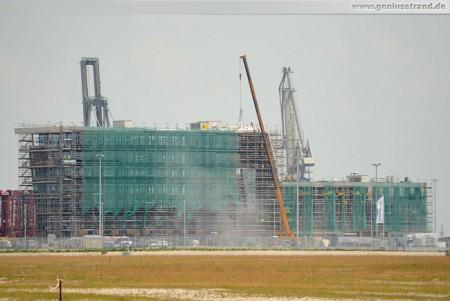 Baustelle Container Terminal Wilhelmshaven - Terminal-Gebäude