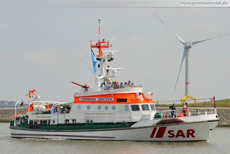 Seenotrettungskreuzer (SRK) Vormann Jantzen von der DGzRS