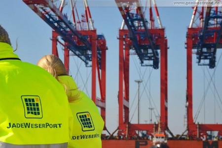 CT Wilhelmshaven: Tag der offenen Tür am JadeWeserPort 2012