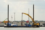 Hafenbaustelle Container Terminal Wilhelmshaven (CTW)