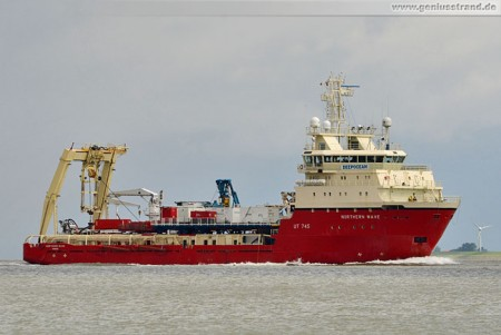 Offshore Versorger Northern Wave (Platform Supply Vessel, PSV)