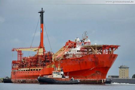 Ölbohrschiff Petrojarl Banff (Floating Production Storage & Offloading, FPSO)