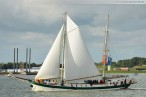 Wilhelmshaven: Jade-Weser-Port-Cup 2012 Segelregatta und Einlaufparade