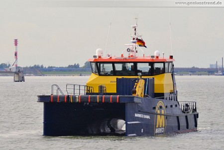 High Speed Support Vessel (HSSV) Marineco Shamal in Wilhelmshaven