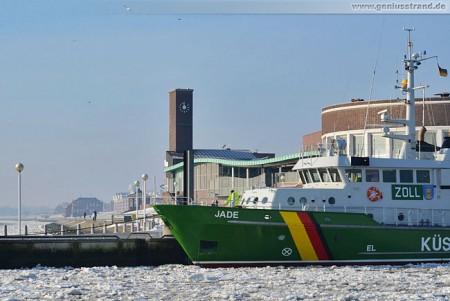 Wilhelmshaven: Küstenwache/Zollschiff Jade am Helgolandkai