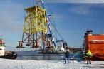 Wilhelmshaven: Nordhafen Hannoverkai Offshore Stahlfundament