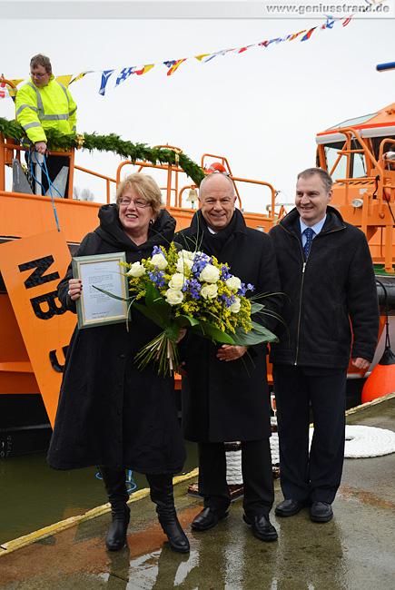 Wilhelmshaven: Lotsenboot Warnemünde getauft