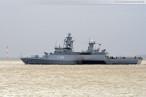 Wilhelmshaven: Einsatz- und Ausbildungsverband (EAV 2013) beim auslaufen