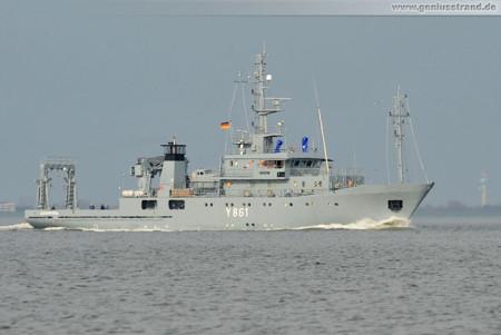 Schiffsbilder Wilhelmshaven: Mehrzweckerprobungsboot Kronsort (Y 861)