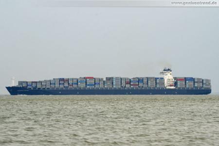Schiffsbilder Wilhelmshaven JadeWeserPort: Containerschiff Northern Jubilee