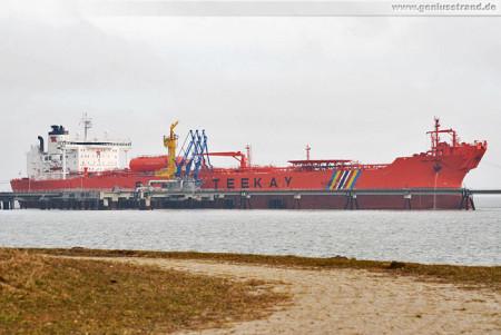 Schiffsbilder Wilhelmshaven: Tanker Stena Natalita am NWO Löschkopf 1