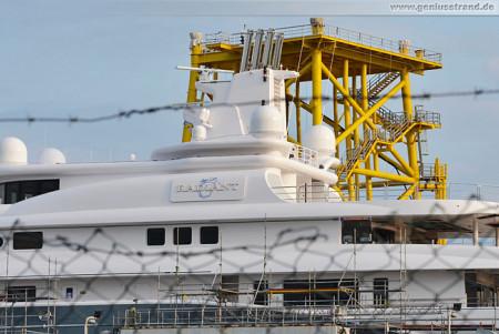 Wilhelmshaven: Die Radiant im Schwimmdock der Neuen JadeWerft