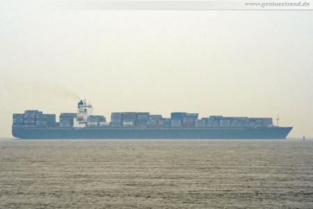 Wilhelmshaven Schiffsbilder JadeWeserPort: Containerschiff Maersk Sydney