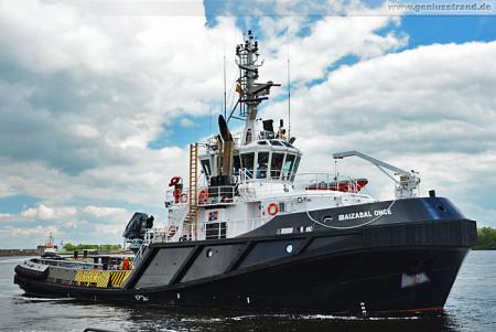 Schiffsbilder Wilhelmshaven: Schlepper Ibaizabal Once im Nordhafen