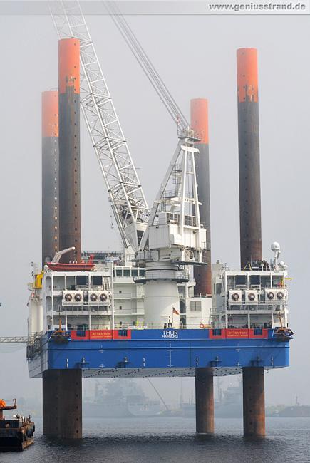 Wilhelmshaven: Hochtief Hubinsel Thor