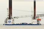 Wilhelmshaven: Die Hubinsel Thor wird in Wilhelmshaven gewartet