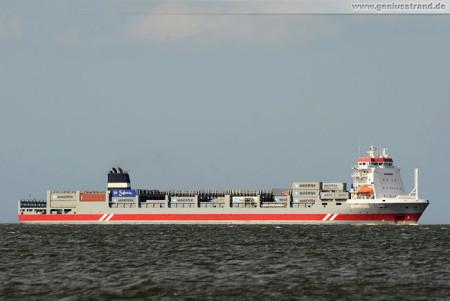 Containerterminal Wilhelmshaven (CTW): Containerschiff Rijnborg