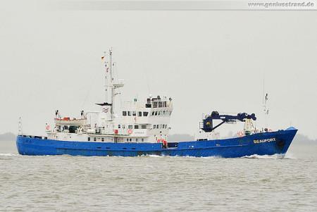 Schiffsbilder WHV: Forschungsschiff Beaufort, Reederei Norden-Frisia