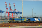 Container Terminal Wilhelmshaven: Erster Containerzug am JadeWeserPort