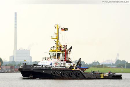 Schiffsbilder Wilhelmshaven: Schlepper Multratug 4 im Nordhafen