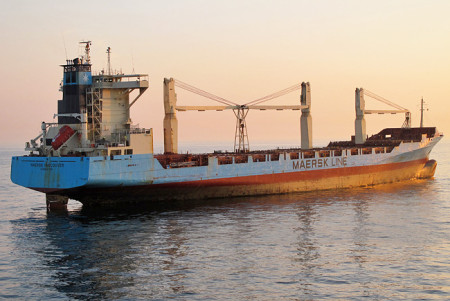 Die Maersk Containerschiffe kommen nach Wilhelmshaven