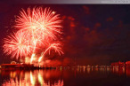 Wilhelmshaven: Abschlussfeuerwerk JadeWeserPort-Cup 2013