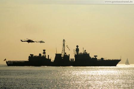 Wilhelmshaven: Fregatte Augsburg (F 213) vom Atalanta Einsatz zurück