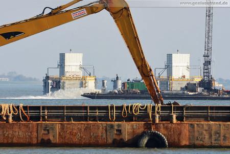 Wilhelmshaven: Kühlwasserentnahmestelle des GDF Suez Kohlekraftwerks