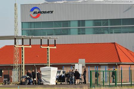 Wilhelmshaven: Dreharbeiten für NDR Tatort Kaltstart am JadeWeserPort
