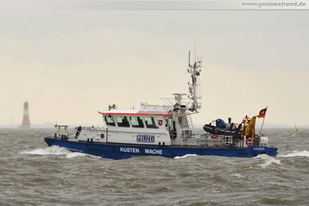 Wilhelmshaven: Wasserschutzpolizei W 5 ist auf Kontrollfahrt unterwegs