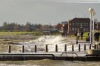 Wilhelmshaven Alter Vorhafen: Erster Herbststurm im Monat November 2013