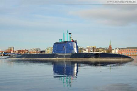 Wilhelmshaven U-Boot-Neubau Tanin der Dolphin AIP-Klasse (TKMS Submarine)