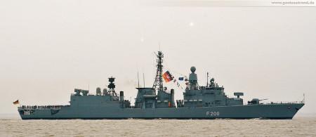 Wilhelmshaven: Fregatte Niedersachsen (F 208) zurück vom Atalanta Einsatz