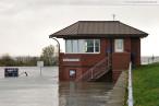 Sturmtief Tilo bringt Sturmflut nach Wilhelmshaven (Nassauhafen)