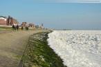 Wilhelmshaven: Winterbilder vom Südstrand mit Eisschollen