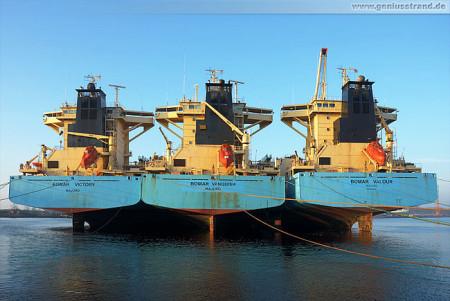 Wilhelmshaven: Die Ex-Maersk-Schiffe haben neue Namen bekommen