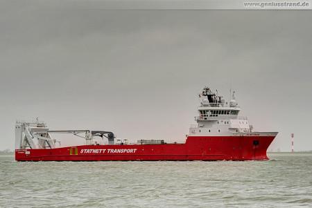 Wilhelmshaven Schiffsbilder: Platform Supply Vessel (PSV) ELEKTRON