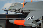 Deutsches Marinemuseum Wilhelmshaven: Starfighter auf Sockel gesetzt
