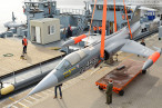Marinearsenal Wilhelmshaven: Starfighter wurde zum Museum transportiert