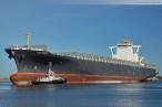 Nordhafen Hannoverkai: Containerschiff Ilse Wulff verlässt Wilhelmshaven