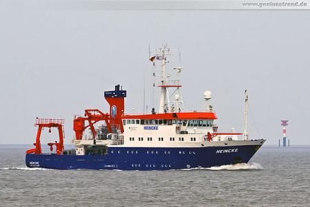 Wilhelmshaven: Forschungsschiff Heincke des Alfred-Wegener-Institut (AWI)